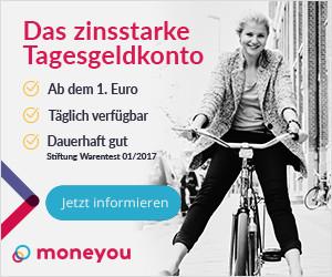 MoneYou Tagesgeldkonto