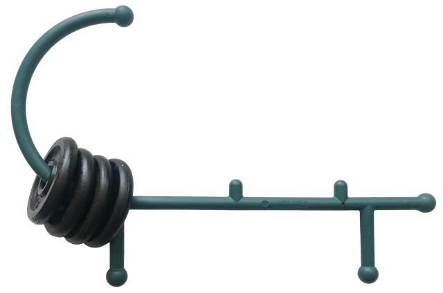 Theracane Massager mit Gewichten beschwert